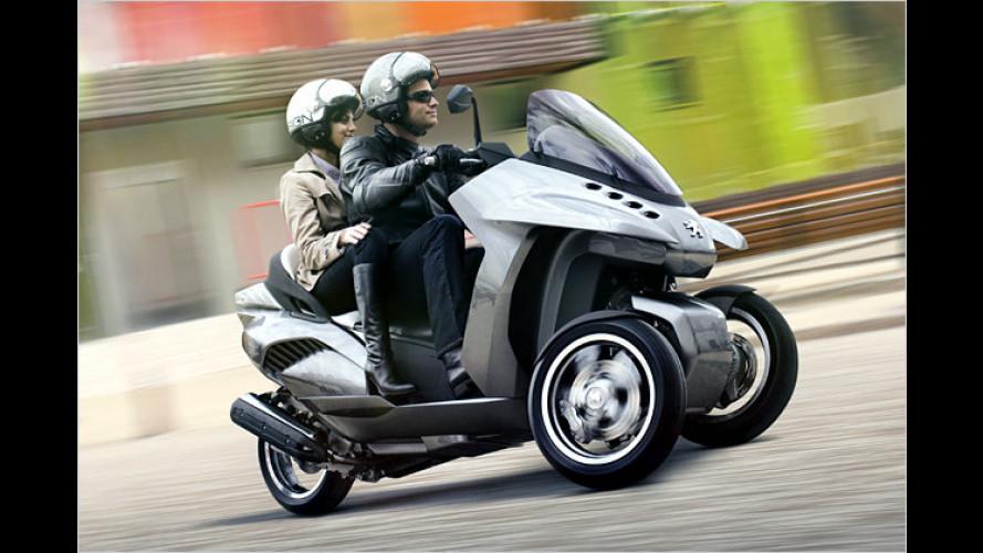 HYbrid3 Evolution Concept: Hybrid-Dreirad, nun ohne Dach