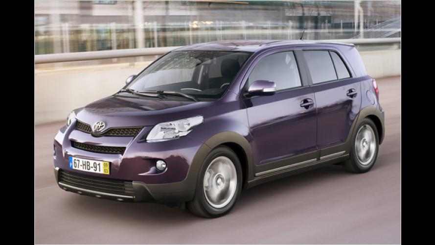 Toyota Urban Cruiser: Schickes SUV im Kleinwagenformat