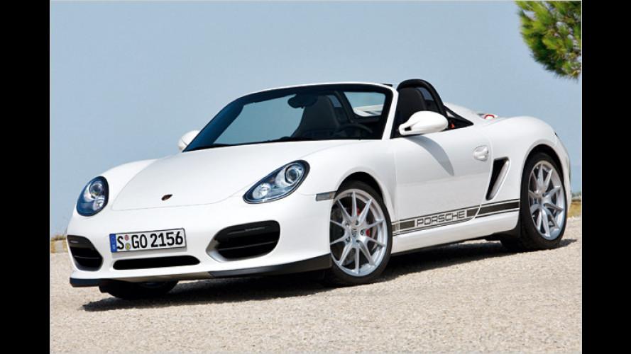 Bezaubernder Buckel: Neuer Porsche Boxster Spyder