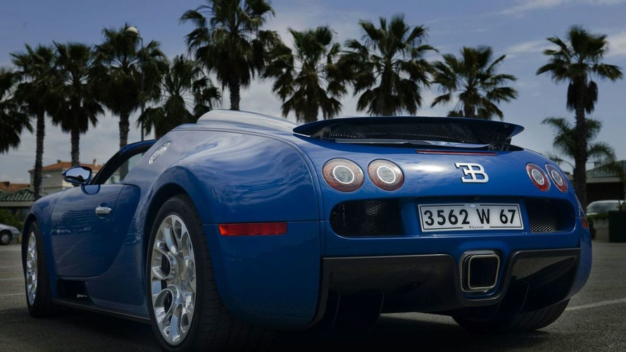 Bugatti Veyron Grand Sport Production Begins