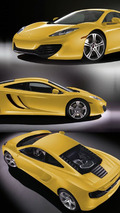 2010 McLaren MP4-12C - Yellow Livery