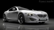 BMW M6 Concept Design Study