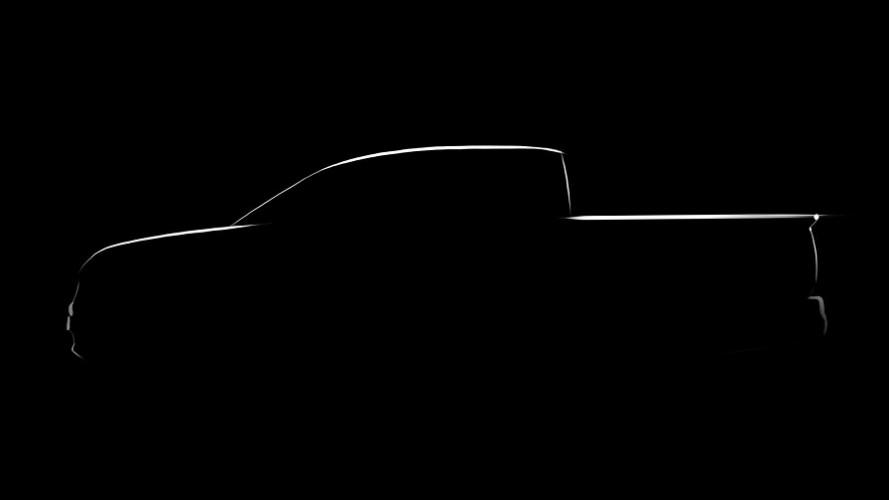 Honda adianta nova geração da Ridgeline em teaser; lançamento acontece em 2016