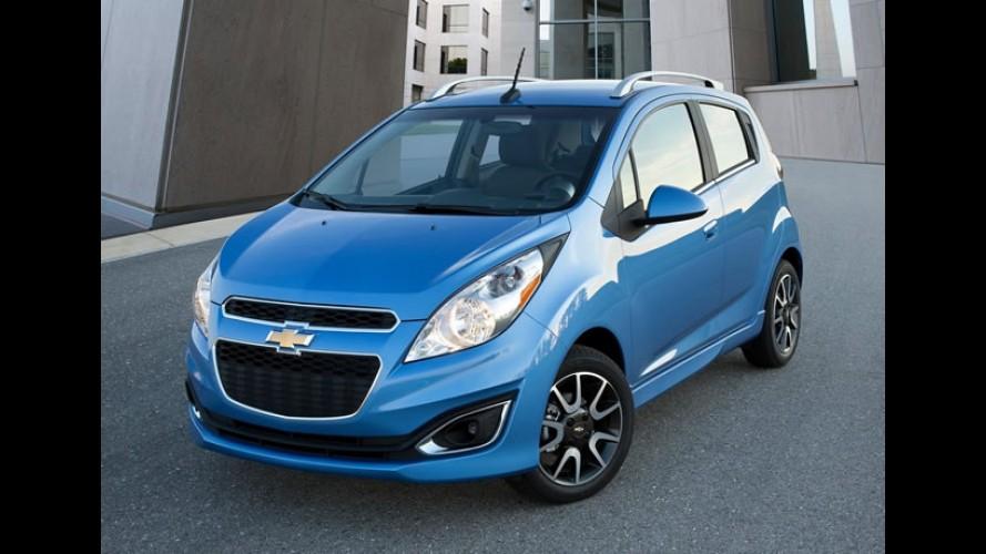 Chevrolet Spark 2013 automático tem consumo médio de 13,6 km/litro