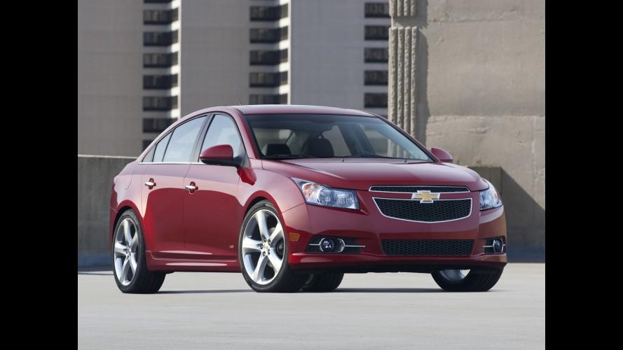 Chevrolet Cruze é convocado para recall nos EUA
