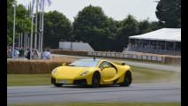 Superesportivo Spano GTA surge no Festival de Velocidade de Goodwood
