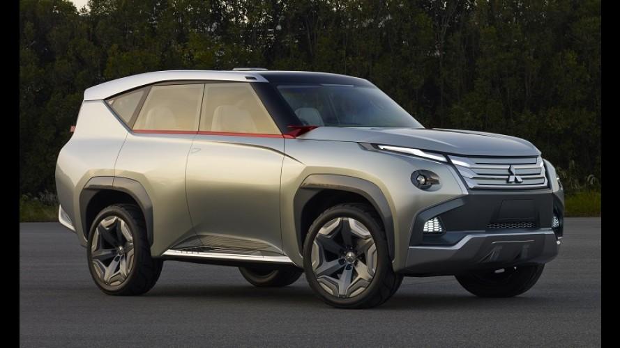 Mitsubishi: propulsão híbrida para nova Pajero Full e ênfase no lançamento de SUVs