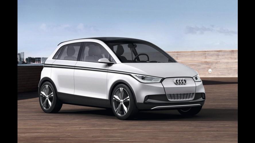 Pré-Frankfurt: Novas imagens oficiais do Audi A2 Concept são reveladas