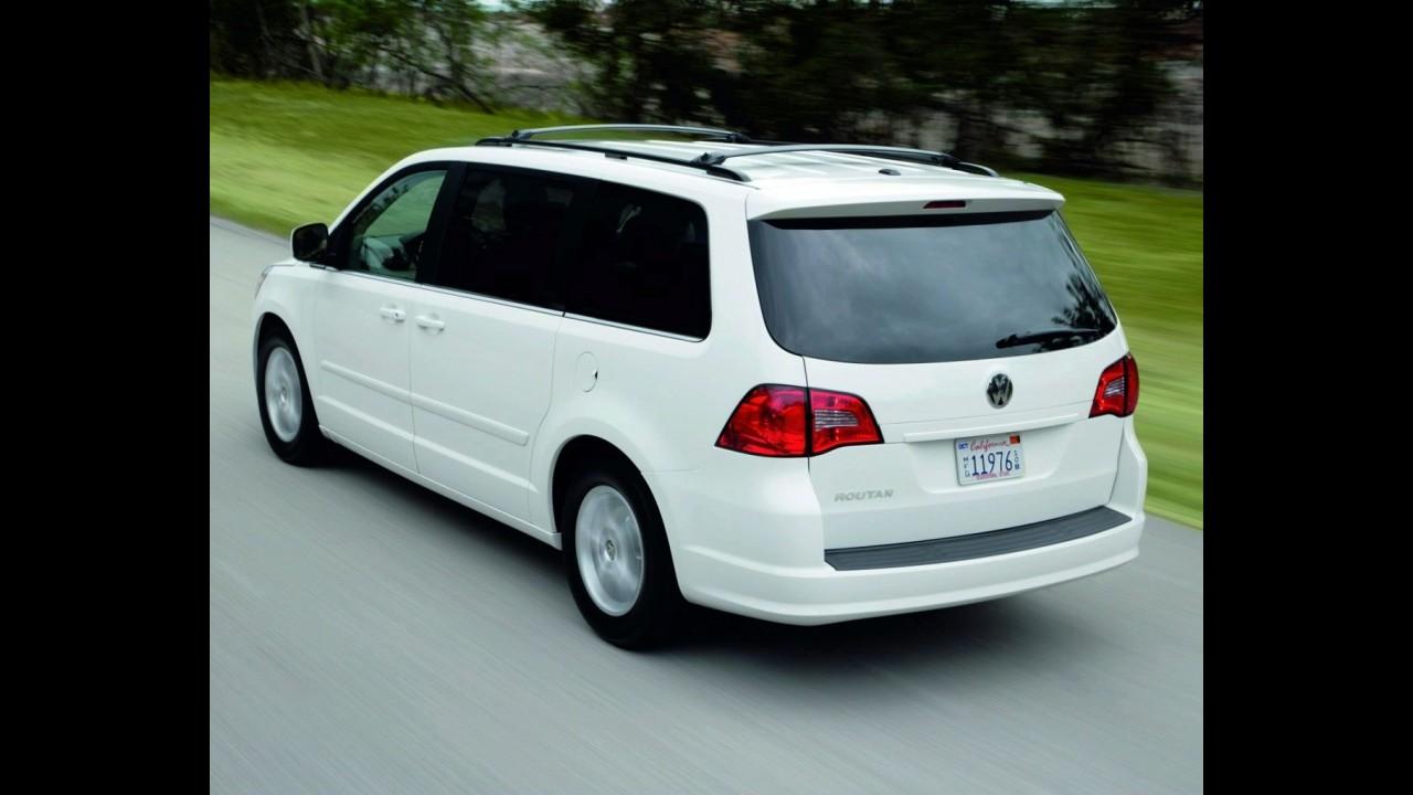Volkswagen deverá encerrar produção da minivan Routan no Canadá