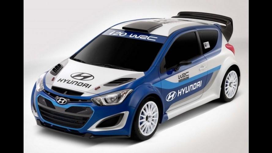 Hyundai planeja volta ao WRC com o i20