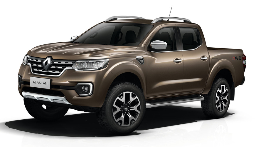 Renault Alaskan revealed as brand's first one-tonne pick-up