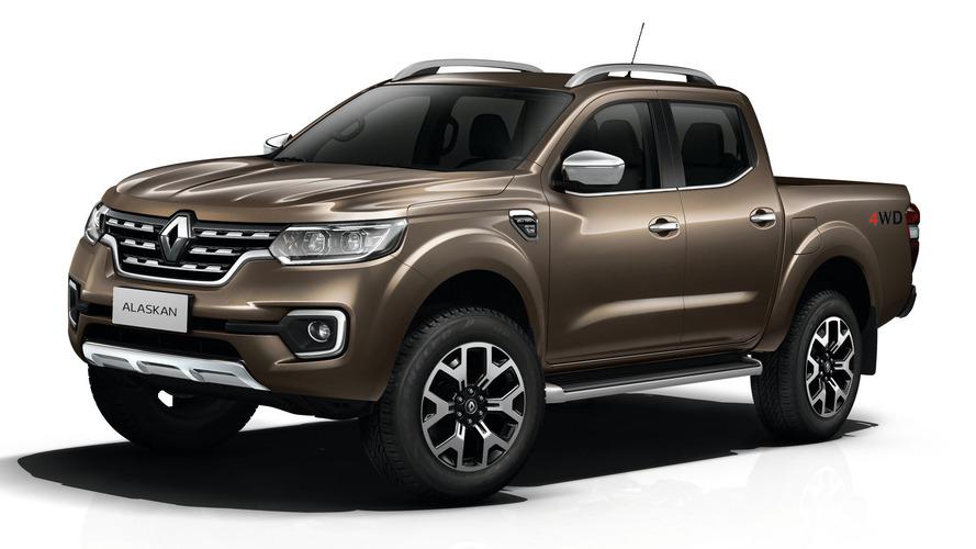 Le Renault Alaskan se dévoile
