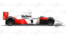 1991 - McLaren MP4/6