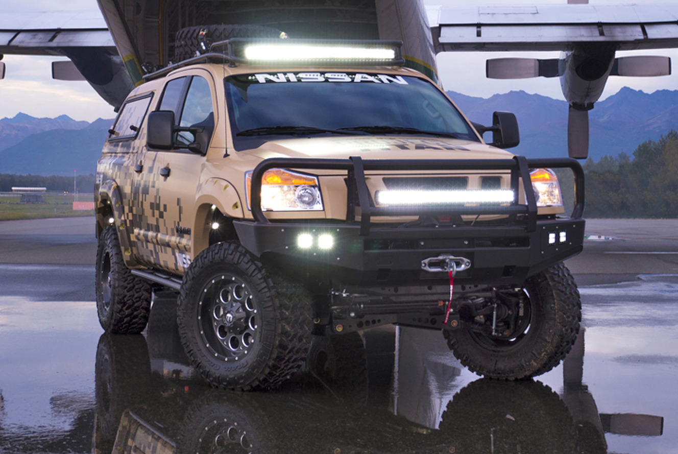 Two Wounded Warriors Driving Nissan Titans Through Alaska [w/Video]