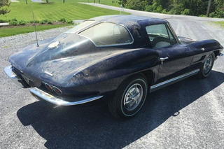 1963 Chevrolet Corvette Split Window Barn Find Should Clean Up Nicely