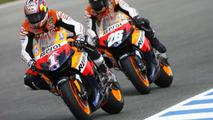 2007: Nicky Hayden y Dani Pedrosa, Repsol Honda, MotoGP