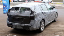 2018 Toyota Avensis wagon spy photo