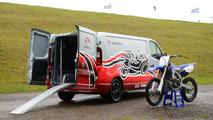Vauxhall Vivaro Race Van and Movano Race Van concepts