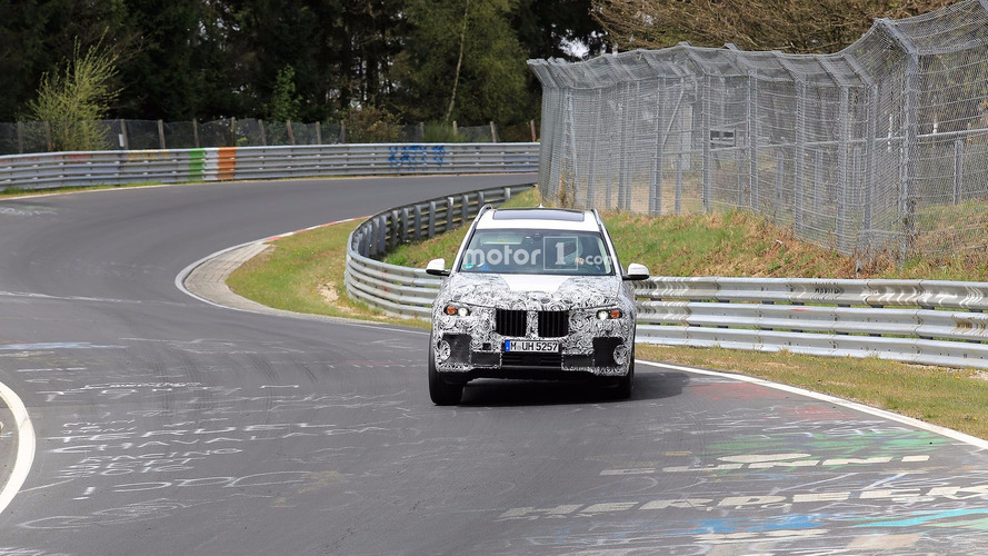 BMW X7 Nurburgring Spy Shots