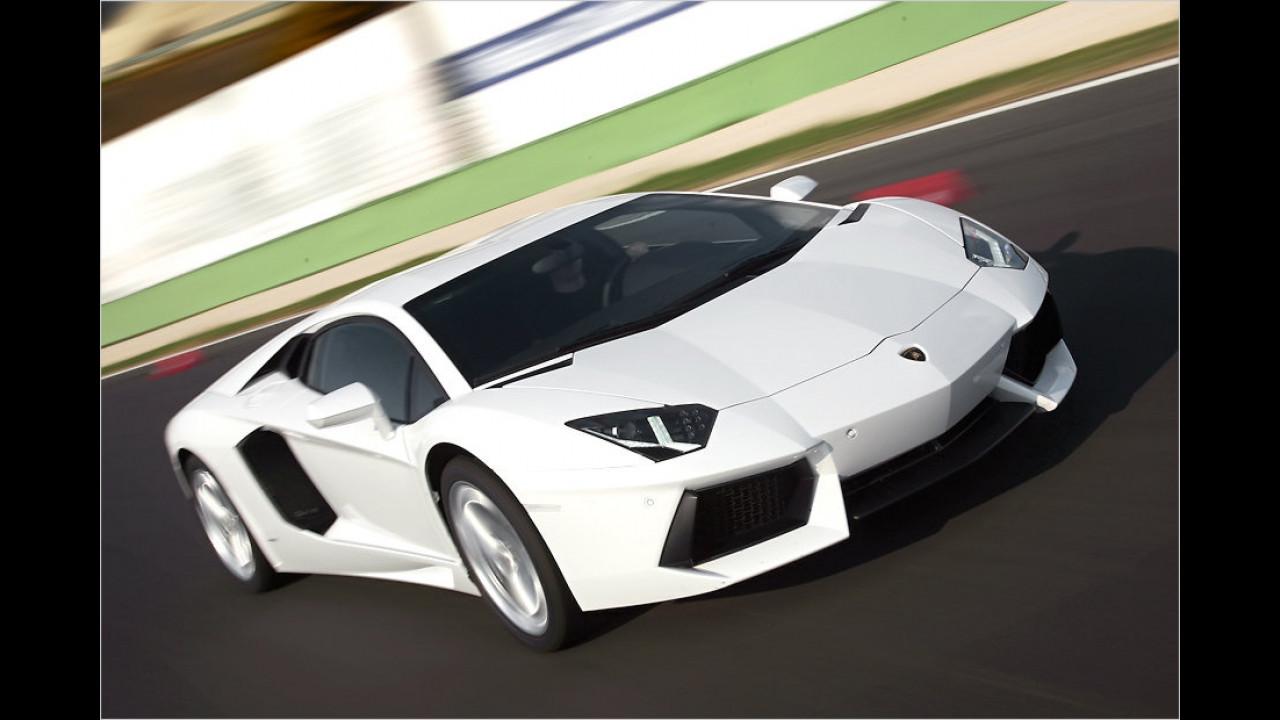 2. Platz: Lamborghini Aventador