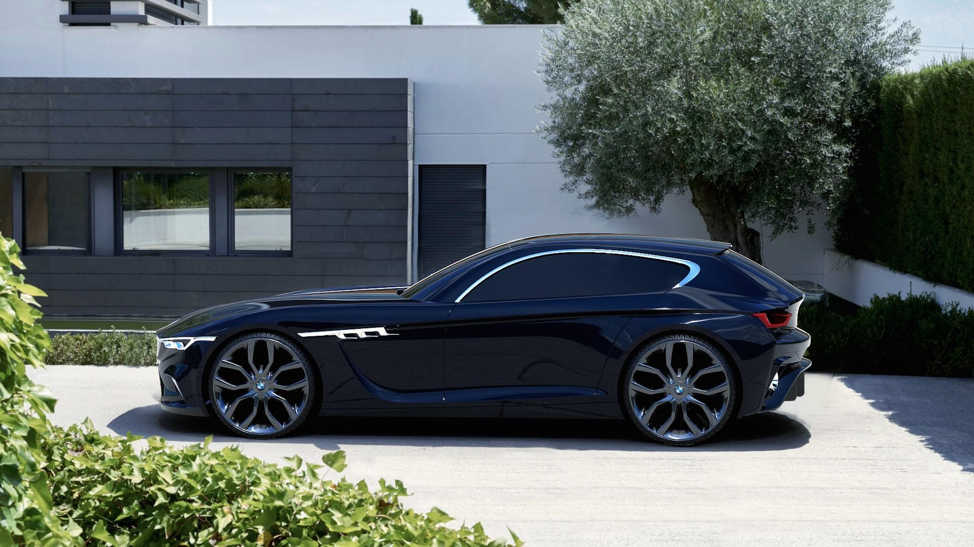 modern bmw m coupe concept gives the clown shoe more class. Black Bedroom Furniture Sets. Home Design Ideas