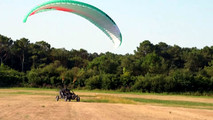Paraglider Car Crosses English Channel