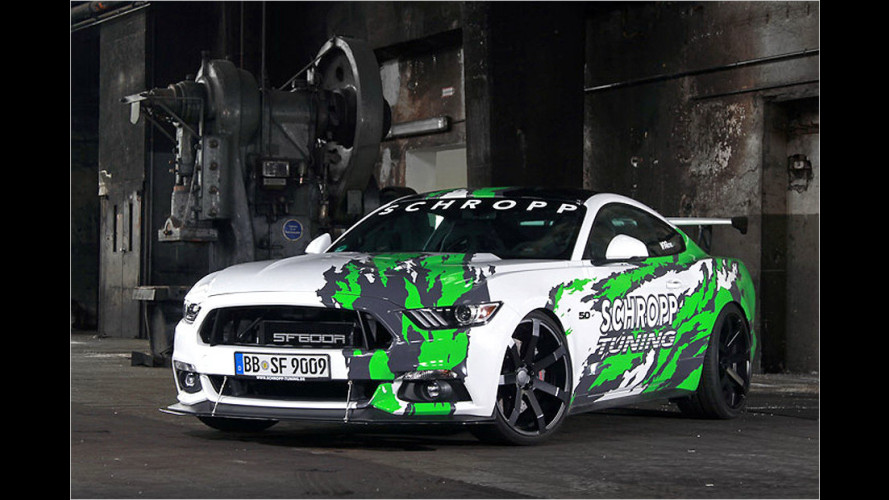 807 PS in einem Ford Mustang?