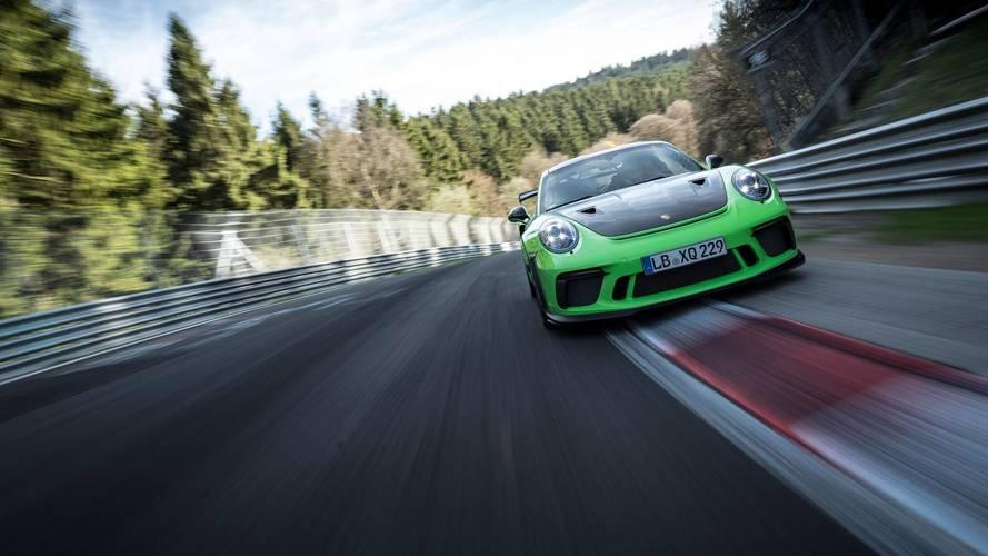 Porsche 911 GT3 RS Nürburgring tur süresi