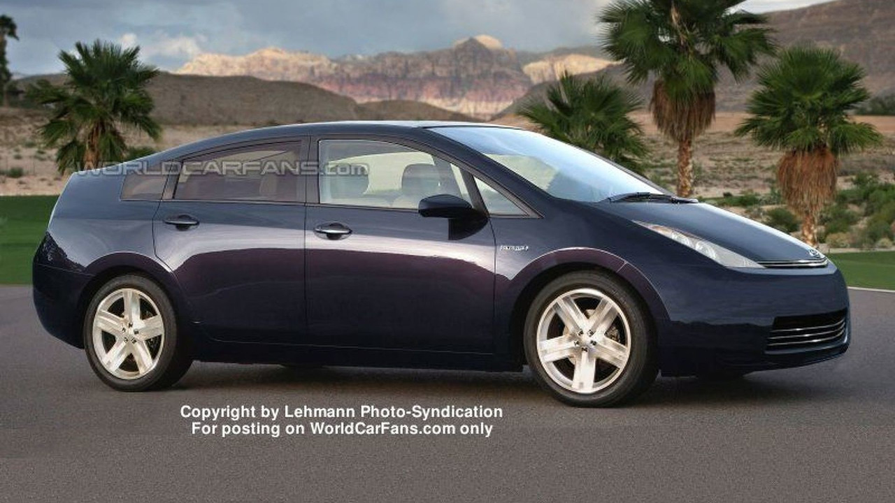 Next Generation Toyota Prius - Artist Impression