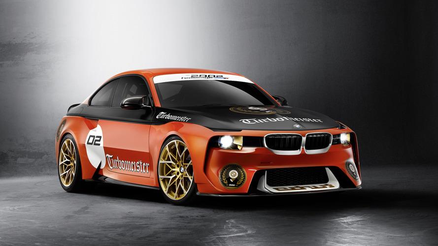 Yakışıklı BMW 2002 Hommage konsepti tanıtıldı