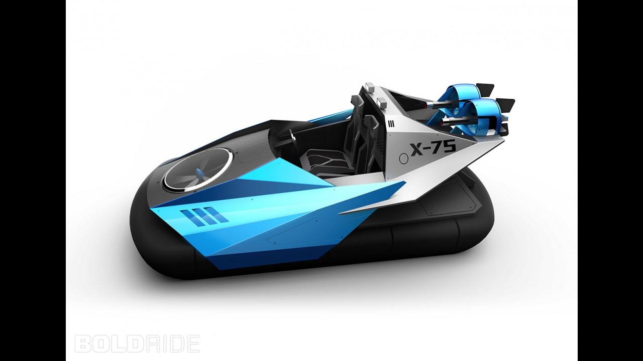 Typhon X-75 Hovercraft Concept