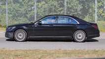 2018 Mercedes S-Class facelift spy photo