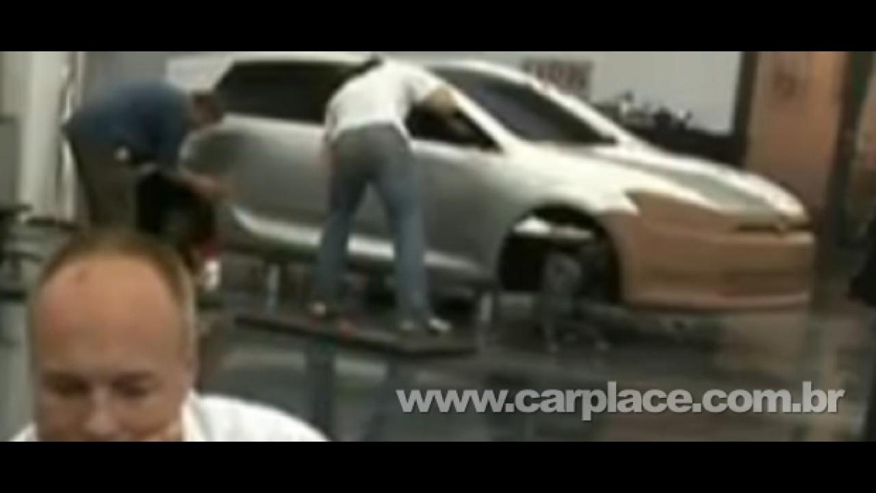 Imagem de protótipo do Novo Golf VII (7) vaza em vídeo oficial da Volkswagen