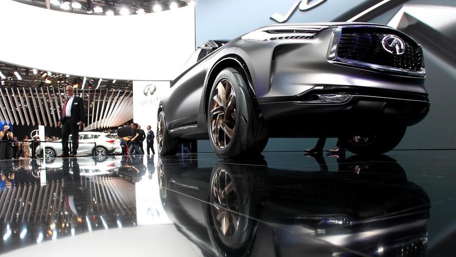 Infiniti QX Sport Inspiration Paris Otomobil Fuarında