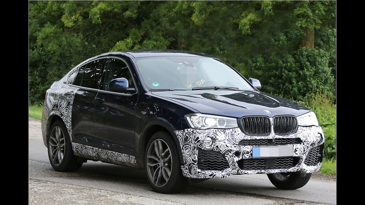 BMW X4 M-Performance-Version ab 2015