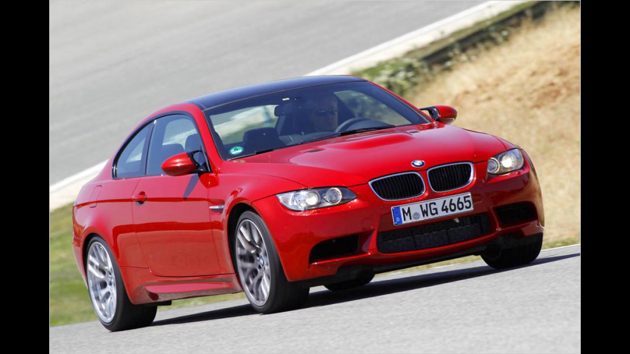 Platz 4: BMW M3 Coupé