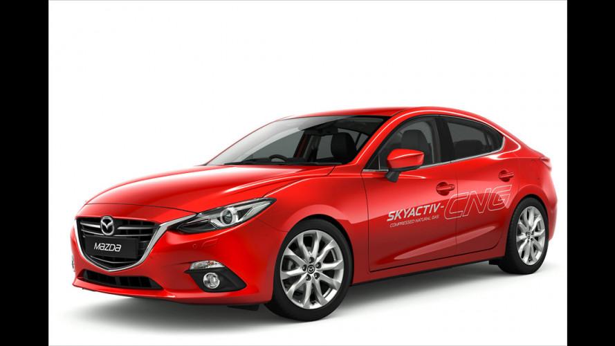 Mazda 3: Hybrid und CNG kommen