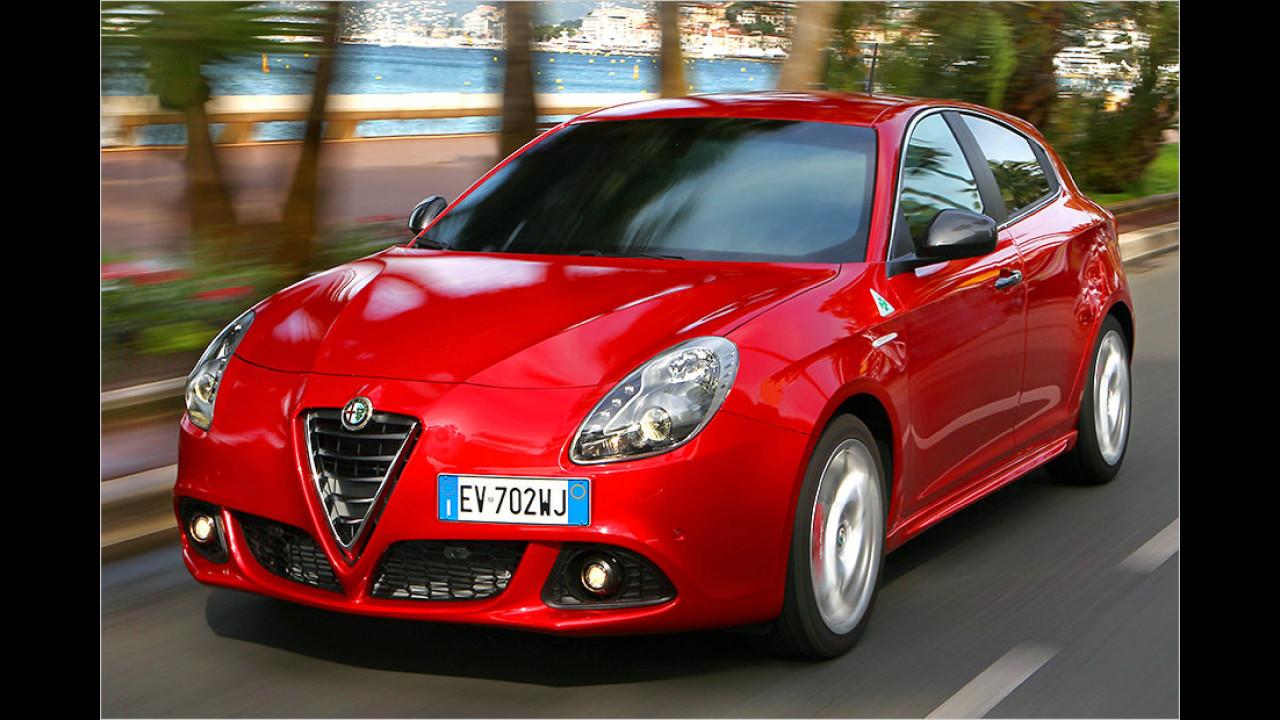 Alfa Romeo Giulietta 1.8 TBi QV: 6,0 Sekunden
