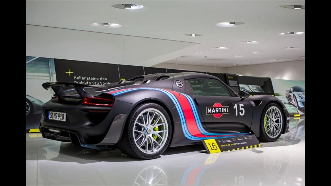 Porsche 918 Spyder ,Nürburgring-Rundenrekord