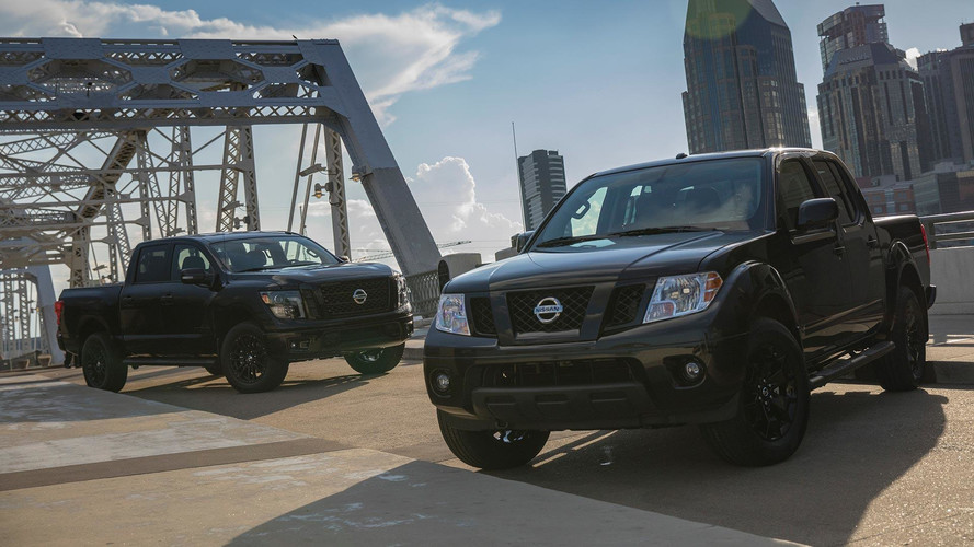 Nissan Titan And Frontier Go Dark For New Midnight Editions