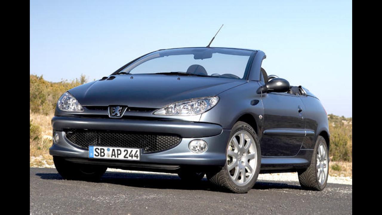 Peugeot: Nichtraucher-Cabrio