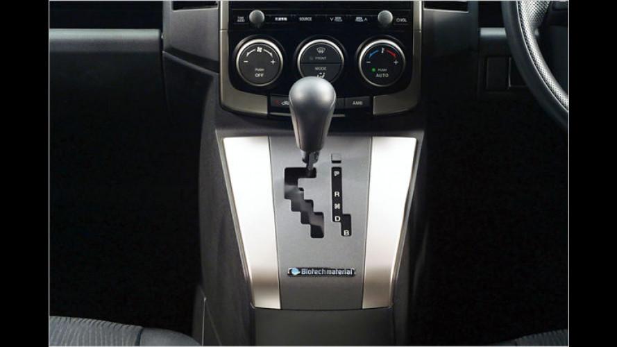 Öko-Stoßfänger: Mazda setzt auf nachwachsende Rohstoffe