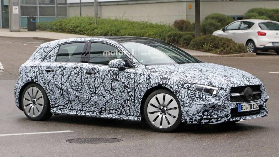 Mercedes-AMG A35 Spied Getting Ready To Rival Audi S3 Sportback