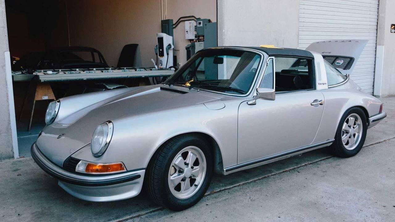Porsche 911 Targa eléctrico