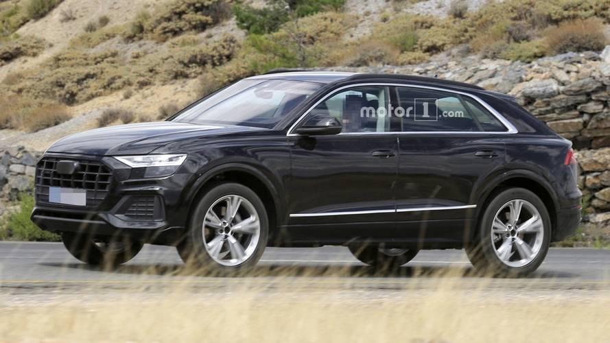 Audi Q8 2018: fotos espía exterior