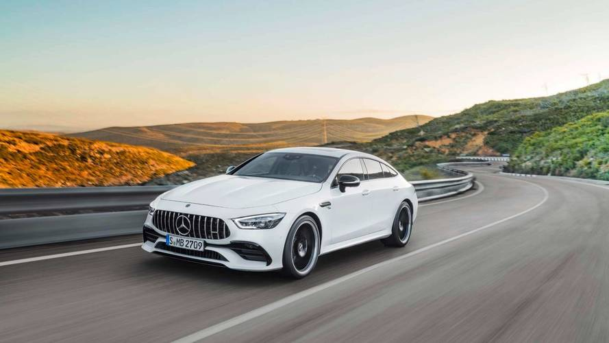 2018 Mercedes-AMG GT 4-Door Coupe