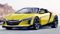 New Honda S2000 rendering
