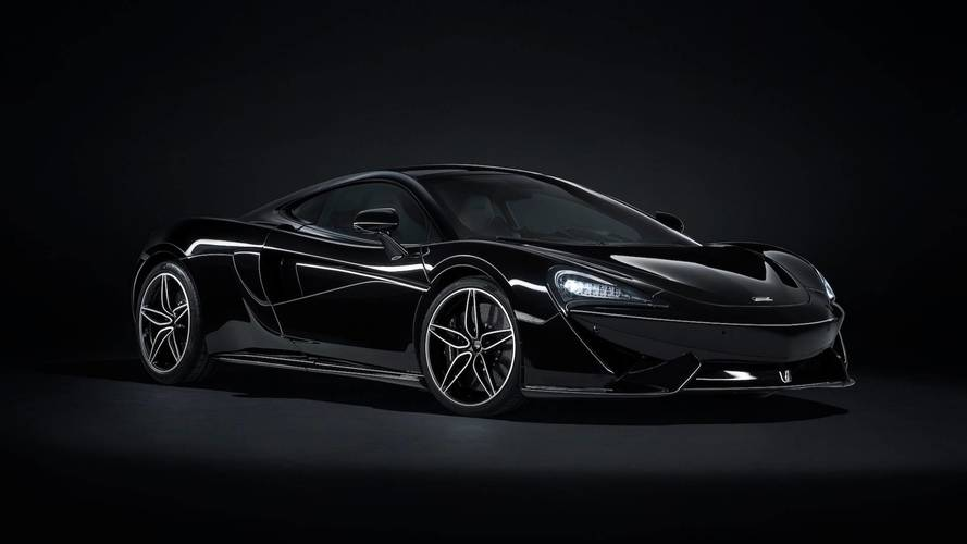 McLaren 570GT MSO Black Collection, belleza oscura
