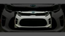 2017 Kia Picanto front fascia leaked