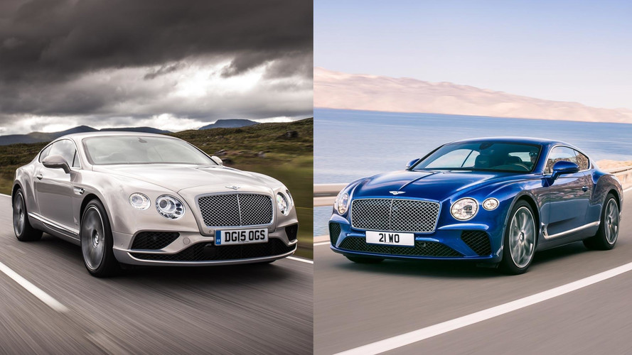 New Bentley Continental GT Goes For A Spin